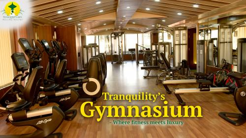 Tranquility's Gymnasium- Where fitness meets luxury