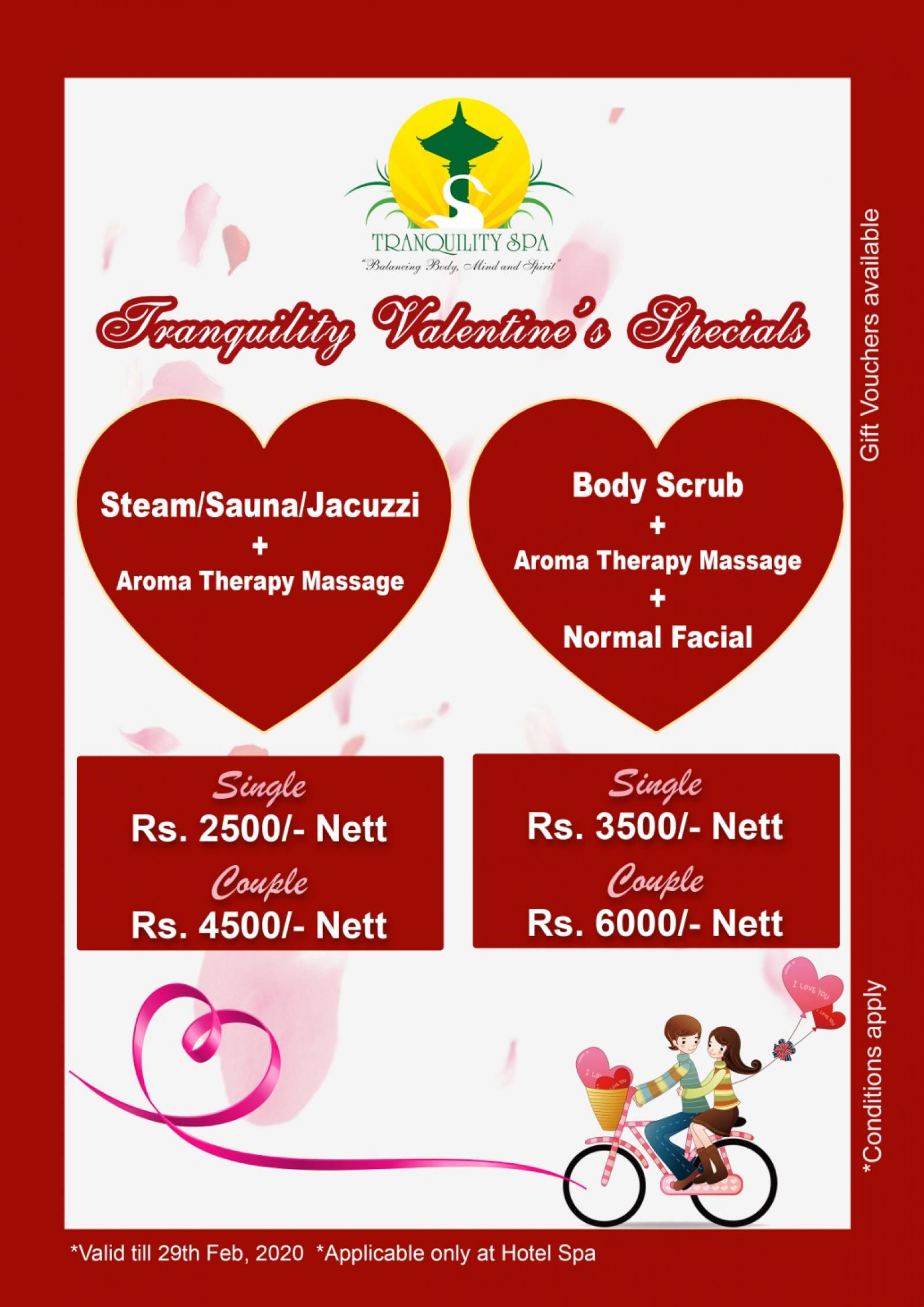 Valentine's Special Offer (Hotel Spa)