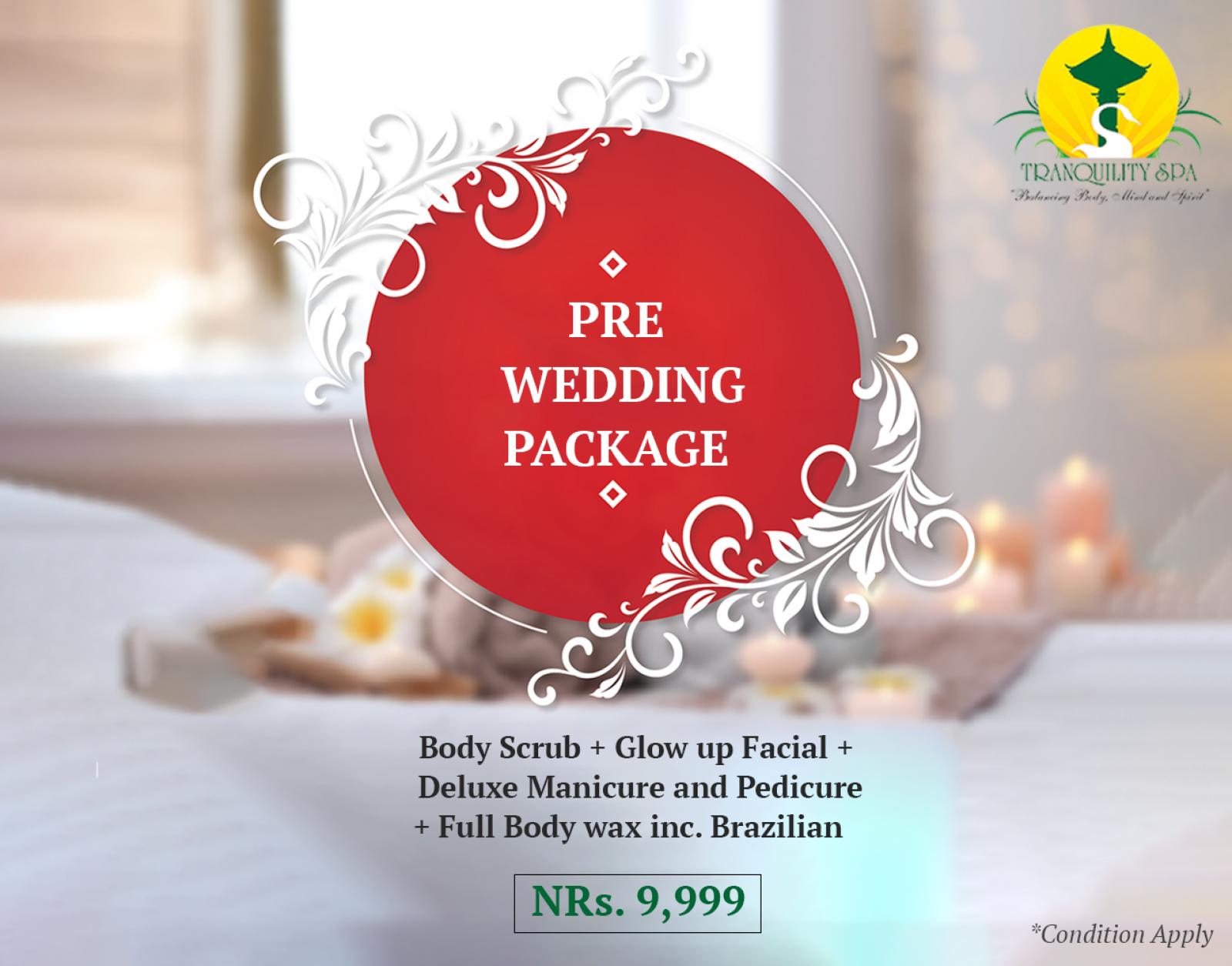 Pre Wedding Package (Valid till 16th of December)