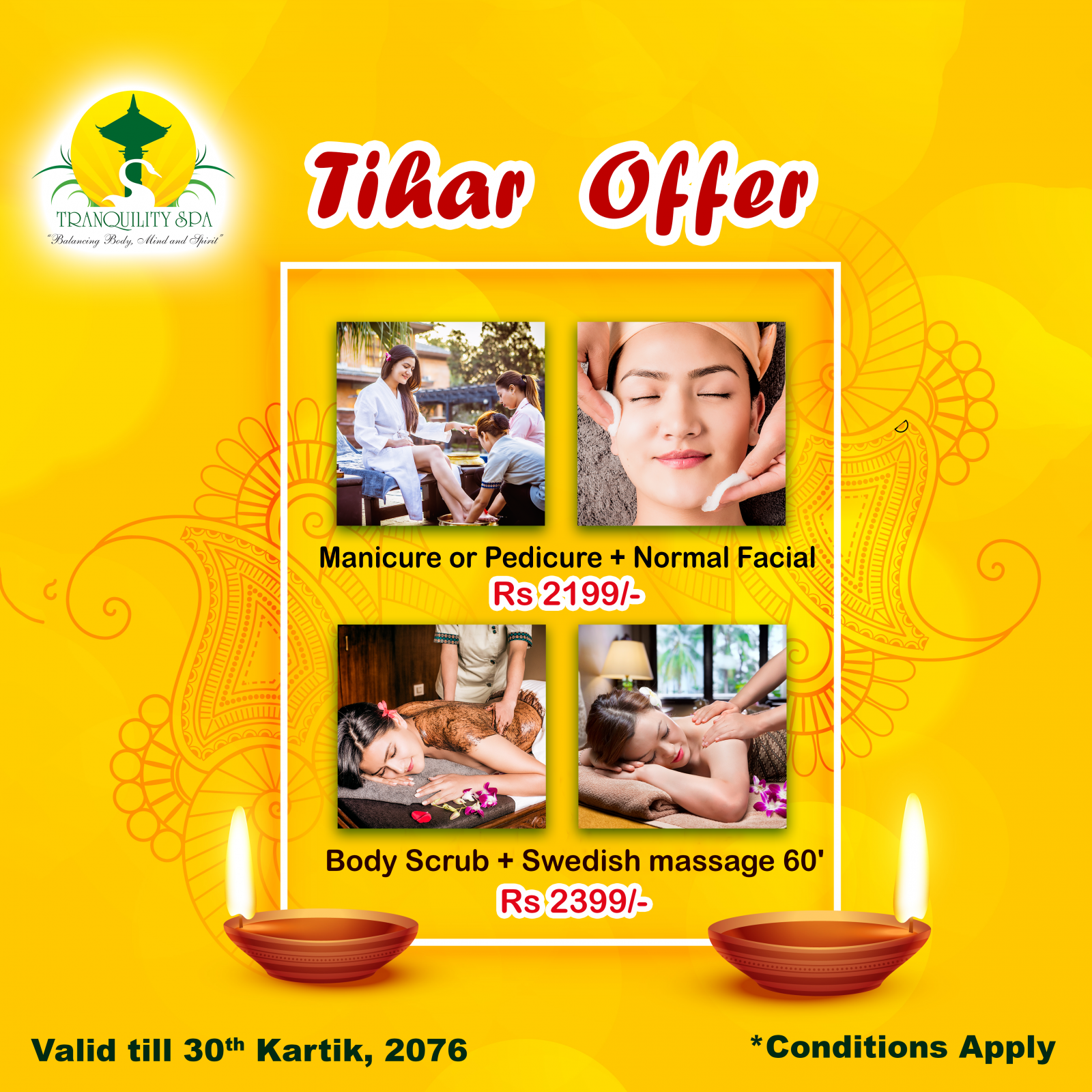 Tihar Offer (Valid till 30th Kartik, 2076)