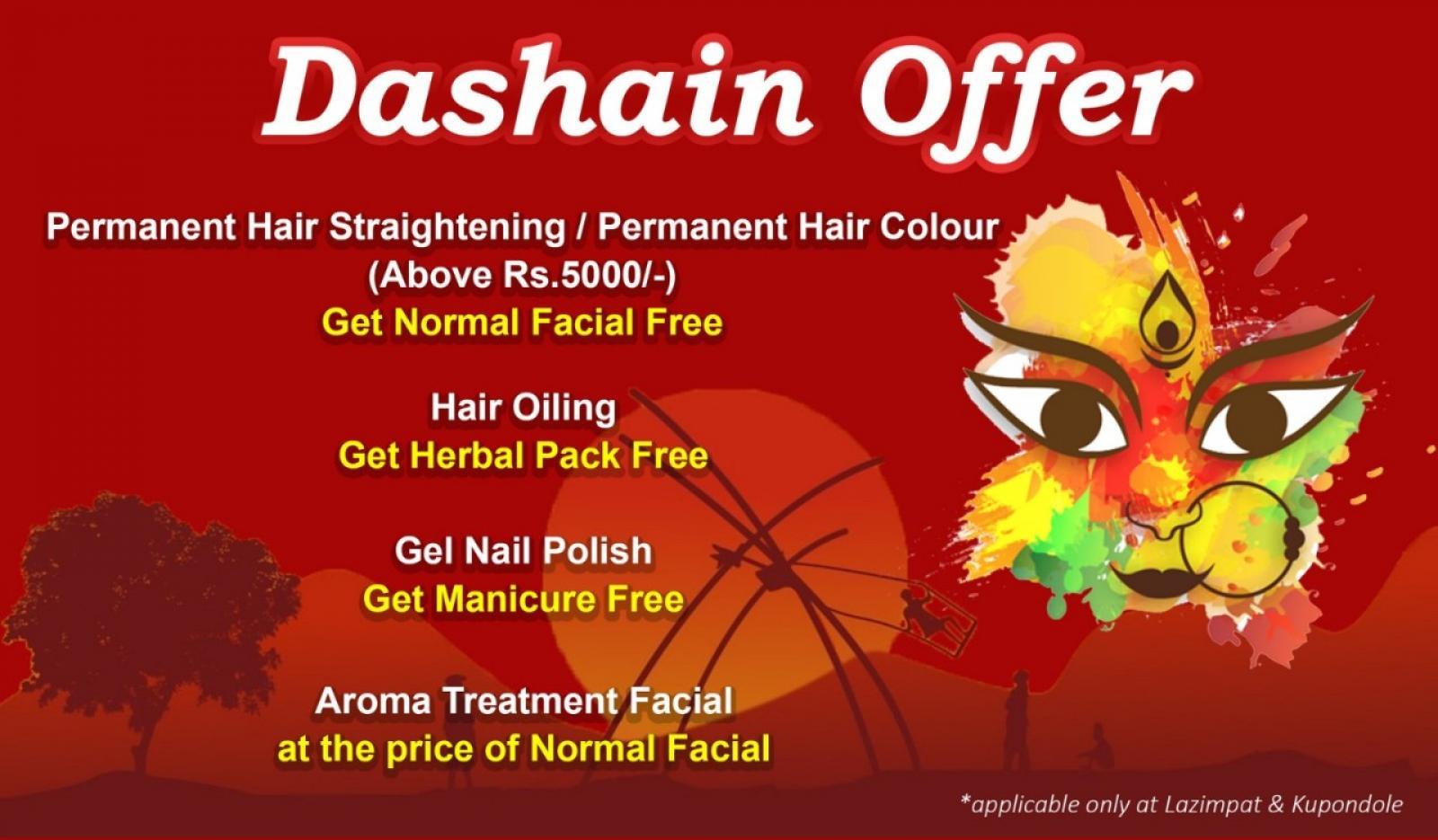 Dashain Offer (Lazimpat and Kupondole)